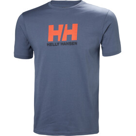 Helly Hansen Logo T-Shirt Men Vintage Indigo